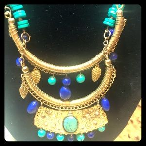 Showstopper 24 inch gold tone necklace